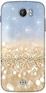 Snoogg Sands Or Crystals Designer Protective Back Case Cover For Micromax A110