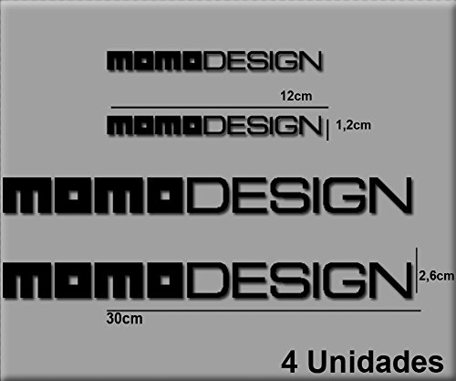 PEGATINAS STICKERS MOTO MOMO DESIGN R100 AUFKLEBER DECALS AUTOCOLLANTS ADESIVI NEGRO/BLACK