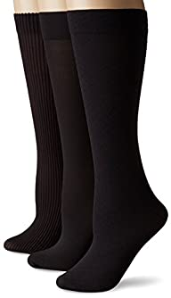 No Nonsense Women's Wardrobe Trouser Sock 3-Pack