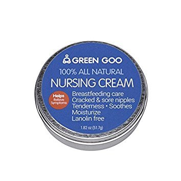 Green Goo Organics 100% All Natural Nursing Comfort Large Tin 1.82oz (51.7g)