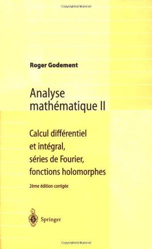 Calcul differentiel et integral