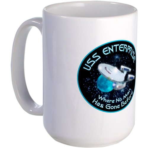 Cafepress Star Trek Gone Before Large Mug Large Mug - Standard