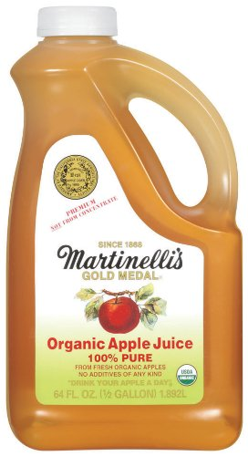 Martinelli's Apple Juice Organic, 64-Ounce (Pack of 6)