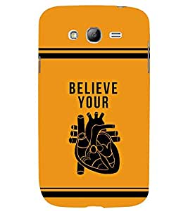 printtech Believe Quotes Back Case Cover for Samsung Galaxy Grand 2 G7102::Samsung Galaxy Grand 2 G7106