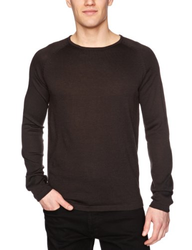 Selected Homme Lyrics Crew Neck T Men's Jumper Night Sky X-Large