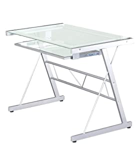 New Home Office Workstation Computer Table Desk Office Furniture Metal