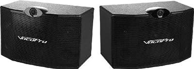 VocoPro SV-500 (Pair) 10 3-Way Vocal Speaker by VocoPro