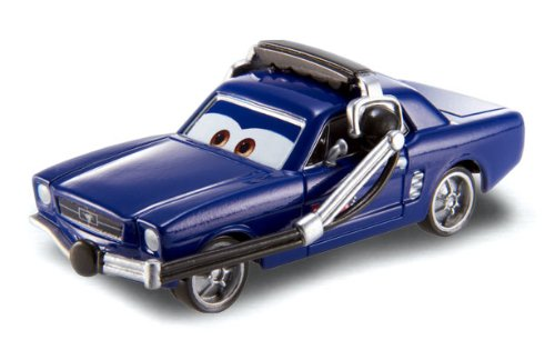 Disney Pixar Cars BRENT MUSTANGBURGER WITH HEADSET - WGP SERIES Series #15/17 - 1:55 Scale