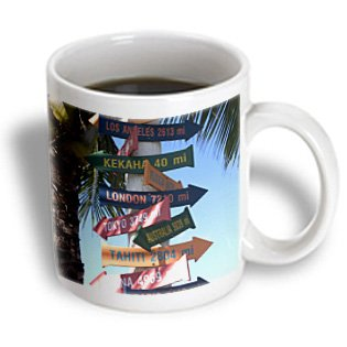 Danita Delimont - Hawaii - Usa, Hawaii, Kauai, Kapaa, Sign. (Rf) - Us12 Sav0127 - Savanah Stewart - 11Oz Mug (Mug_89926_1)