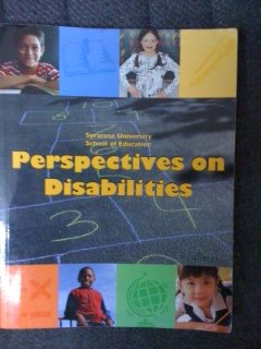 Perspectives on Disabilities - Syracuse University School of Education