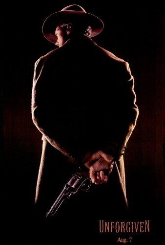 Unforgiven Poster B 27x40 Clint Eastwood Gene Hackman Morgan Freeman