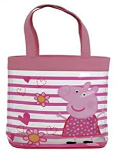 Amazon.com: Peppa Pig Flower Stripe Tote Bag: Toys & Games