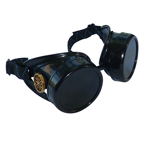Steampunk Goggles Victorian Novelty Glasses CWG Dark