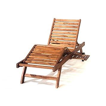bain de soleil soleil en teck huil transat dossier r glable cuisine maison m570. Black Bedroom Furniture Sets. Home Design Ideas