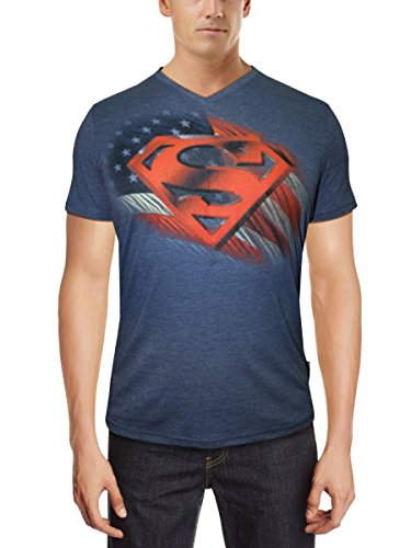 Superman Superman Men's Cotton T-Shirt (Multicolor)