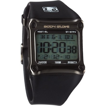 Body Glove Men's 70301 Rhyz Digital Grey and Black Watch