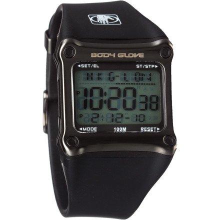 Body Glove Men's 70301 Rhyz Digital Grey and Black Watch