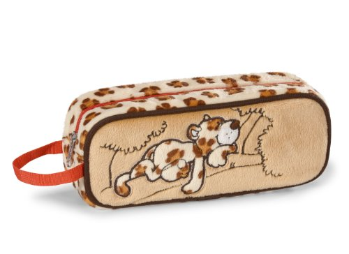 NICI Wild Friends Leopard Plush Pencil Case 20 x 8 x 5 cm