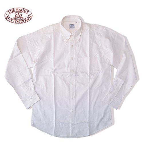 THE BAGGY[バギー] ヘビー オックスフォードシャツ ボタンダウンシャツHEAVY OXFORD B.D L/S SHIRTS WHITEホワイト