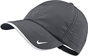 2014 Nike Golf Perforated BLANK Cap Hat - Personalize With Your Own Team Logo by Nike