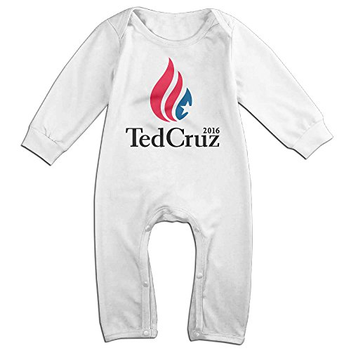 HOHOE Boy's & Girl's Ted Actor Cruz Long Sleeve Bodysuit Outfits 6 M
