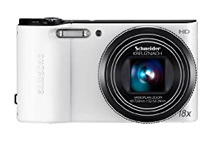 Samsung WB150 Compact Digital Camera - White (14.1MP, 18x Optical Zoom) 3.0 inch LCD