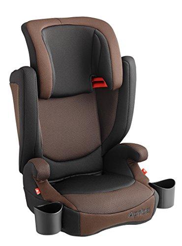 アップリカ エアライド ライドブラウンBR 軽量ジュニアシート 3歳頃からのロングユース仕様 (両サイドドリンクホルダー付) 93489