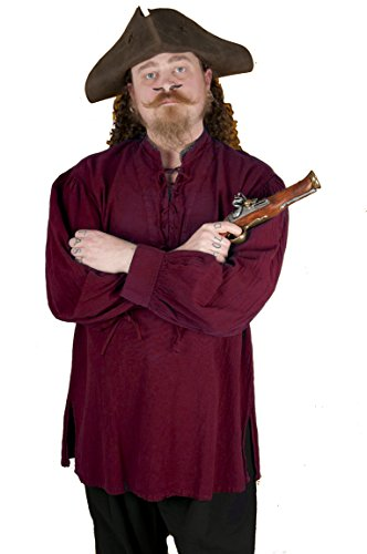 Dress (Mens Burgundy Pirate Costumes)