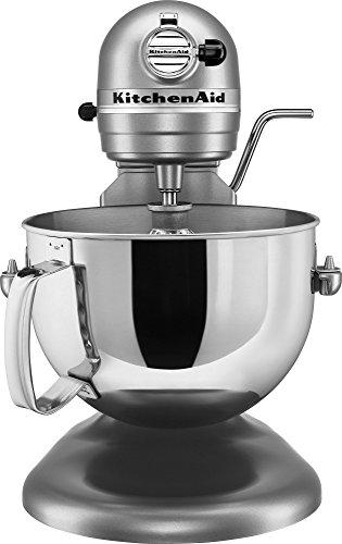 KitchenAid KV25G0XSL Professional 5 Plus Series Bowl-Lift Stand Mixer, Silver, 5 quart (Kitchenaid Plus 5 compare prices)