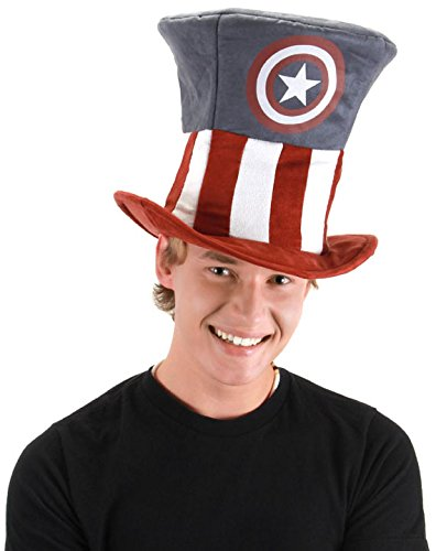 elope Men's Captain America Mad Hatter Hat - 1