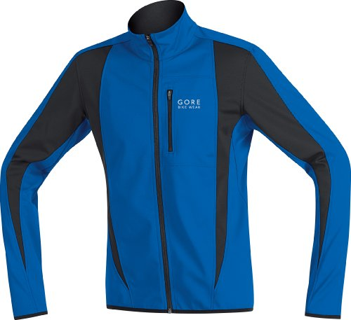 Gore Bike Wear Contest Soft Shell Men's Jacket - Blue, S