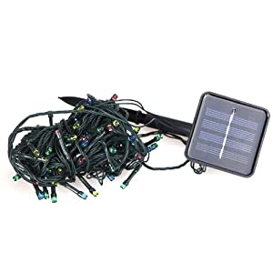 Amazon.com - Docooler 2 Modes LED Solar String Lights Perfect ...