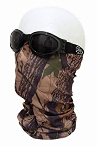 "TOUR de COU / MASQUE / CAGOULE 12 en 1 ""EXTREME CAMOUFLAGE"" - AIRSOFT / PAINTBALL / MOTO / SKI / OUTDOOR"