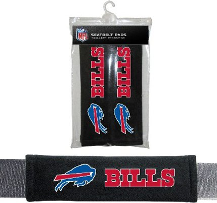 Buffalo Bills Velour Seat Belt Pads