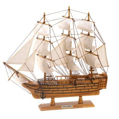 Hms Victory Ship Model Lifelike Schooner Nautical Boat