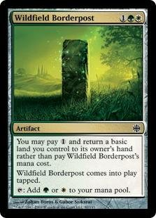 Magic: the Gathering - Wildfield Borderpost - Pietra di Confine della Selva Campestre - Alara Reborn