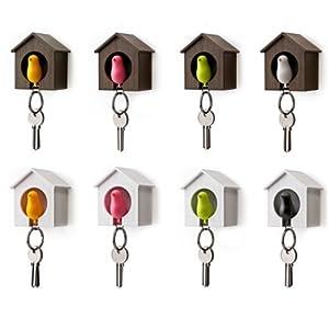 Amazon.com: Sparrow Bird House Nest Whistle Key Holder