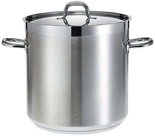 Lacor 54136S Chef Luxe - Pentola per zuppe da catering, senza coperchio, diametro 36 cm