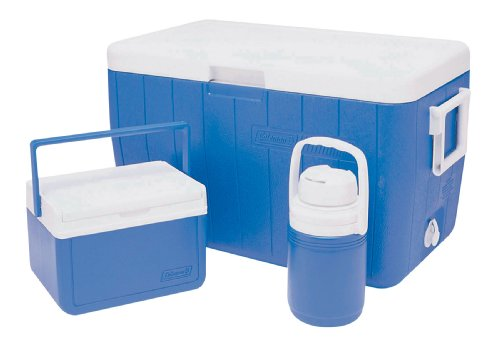 Coleman 48Qt Combo Hard Cooler - Blue/White