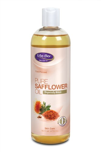 Life-Flo Organic Pure Safflower Oil, 16 Ounce