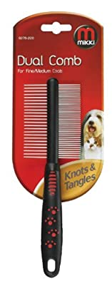 Mikki Grooming Dual Comb by Interpet