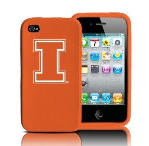 Tribeca Illinois Iphone 4 Silicone Case