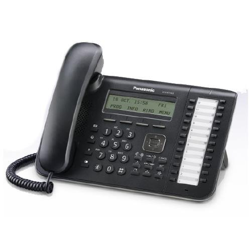 Panasonic Business Telephones Kx-Nt543-B 3-Line Backlit Lcd Display- 24 Flexible