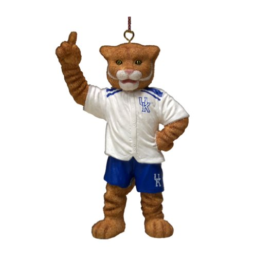 NCAA Kentucky Wildcats Wildcat Mascot Ornament at Amazon.com