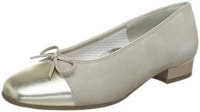 ara Bari 12-33708-41, Damen Ballerinas, Beige (platin,cotton), EU 36.5 (UK 3.5)