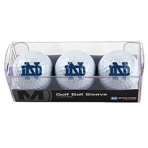 Buy NCAA Notre Dame Fighting Irish 3 Ball Sleeve by WinCraft