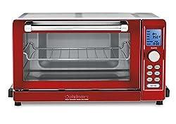 Cuisinart TOB-135MR Deluxe Convection Toaster Oven Broiler - Metallic Red, Metallic Red