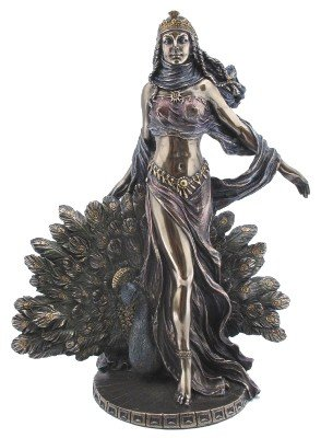 Greek Goddess Hera Bronzed Statue Juno Weddings