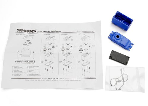 Traxxas 2074 Case, Gaskets for 2056 and 2075 Servos - 1