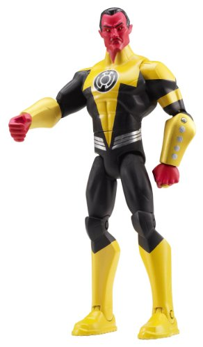 "DC Comics Total Heroes Sinestro 6"" Action Figure"